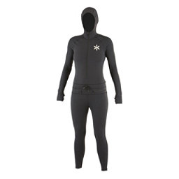 Air Blaster Classic Ninja Suit Womens Long Underwear Top, Black, 256