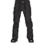 Burton Southside Slim Fit Mens Snowboard Pants, True Black, medium