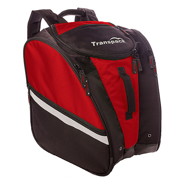 Transpack TRV Pro Ski Boot Bag 2018, Red-Silver Electric, 600