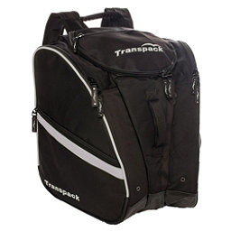 Transpack TRV Pro Ski Boot Bag 2017, Black-Silver Electric, 256