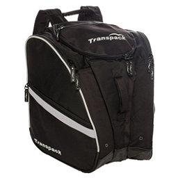 Transpack TRV Pro Ski Boot Bag 2018, Black-Silver Electric, 256