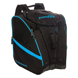 Transpack TRV Pro Ski Boot Bag 2017, Black-Blue Electric, 256