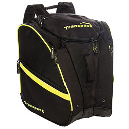 Transpack TRV Pro Ski Boot Bag 2017, Black-Yellow Electric, 256