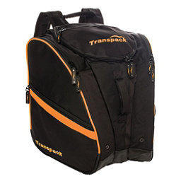 Transpack TRV Pro Ski Boot Bag 2017, Black-Orange Electric, 256