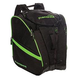 Transpack TRV Pro Ski Boot Bag 2018, Black-Lime Electric, 256