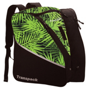 Transpack Edge Junior Ski Boot Bag 2017, Lime Palm, medium
