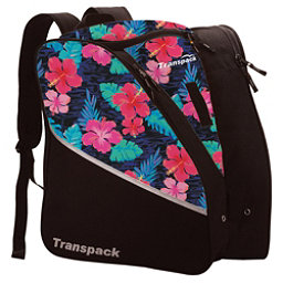 Transpack Edge Junior Ski Boot Bag 2017, Pink Hibiscus, 256