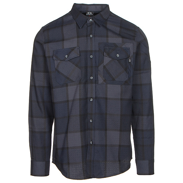 Oakley Adobe Woven Mens Flannel Shirt, , 600