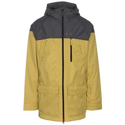 Oakley Silver Fox BZS Mens Shell Snowboard Jacket, Citrus, viewer