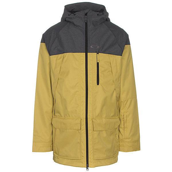 Oakley Silver Fox BZS Mens Shell Snowboard Jacket, Citrus, 600