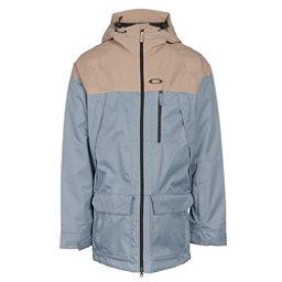 Oakley Silver Fox BZS Mens Shell Snowboard Jacket, Blue Mirage, 256