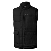 Oakley Drifter Down Mens Vest, Jet Black, medium