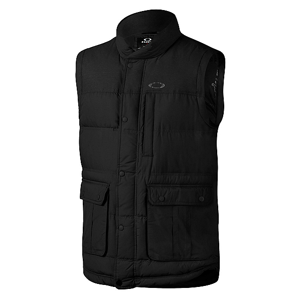 Oakley Drifter Down Mens Vest, Jet Black, 600