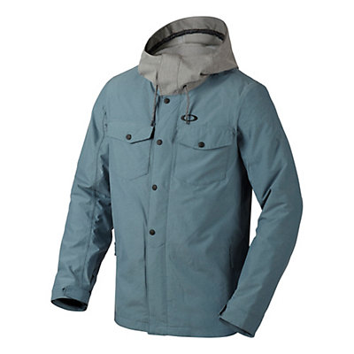 Oakley Division BioZone Mens Insulated Snowboard Jacket, Fired Brick, viewer