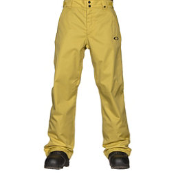 Oakley Sun King BioZone Shell Mens Snowboard Pants, Citrus, 256
