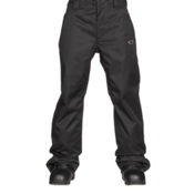 Oakley Sun King BioZone Shell Mens Snowboard Pants, Jet Black, medium
