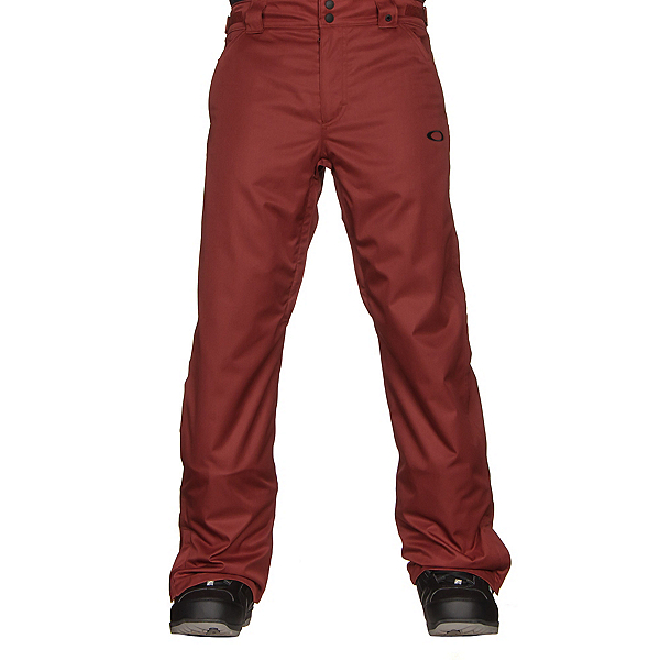 Oakley Sun King BioZone Shell Mens Snowboard Pants, Fired Brick, 600