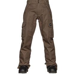 Oakley Arrowhead BioZone Insulated Mens Snowboard Pants, Dark Brush, 256