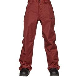 Oakley Sun King BioZone Insulated Mens Snowboard Pants, Fired Brick, 256