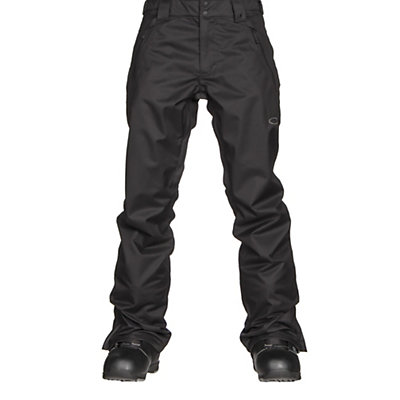 Oakley Jackpot 2 BioZone Shell Mens Snowboard Pants, Jet Black, viewer