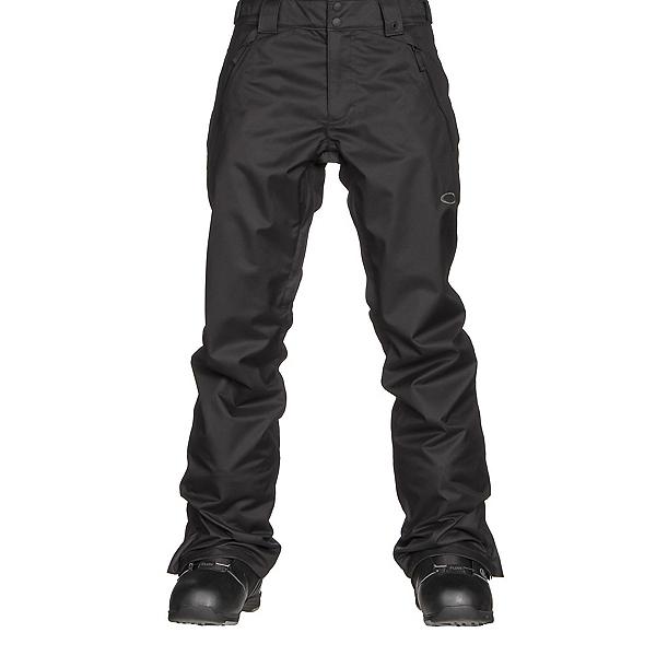 Oakley Jackpot 2 BioZone Shell Mens Snowboard Pants, Jet Black, 600