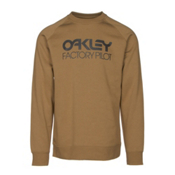 Oakley DWR Factory Pilot Crew Mens Sweater, Burnished, medium