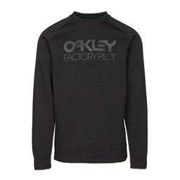 Oakley DWR Factory Pilot Crew Mens Sweater, Jet Black, 256