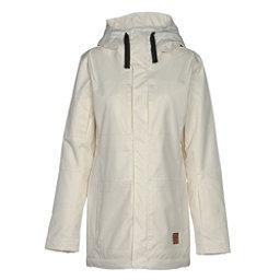 Oakley Moonshine BZI Womens Insulated Snowboard Jacket, Arctic White, 256