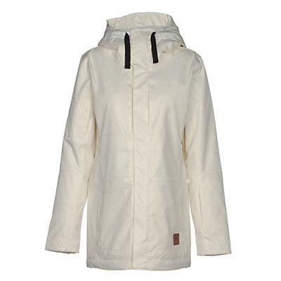 Oakley Moonshine BZI Womens Insulated Snowboard Jacket, Arctic White, viewer