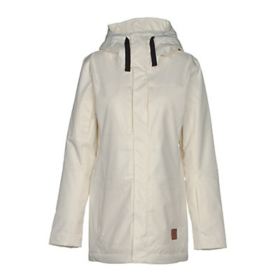Oakley Moonshine BZI Womens Insulated Snowboard Jacket, Arctic White, viewer