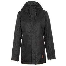 Oakley Moonshine BZI Womens Insulated Snowboard Jacket, Jet Black, 256