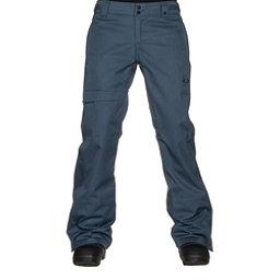 Oakley Limelight BZS Womens Snowboard Pants, Blue Shade, 256