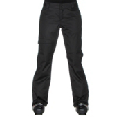 Oakley Limelight BZS Womens Snowboard Pants, Jet Black, medium