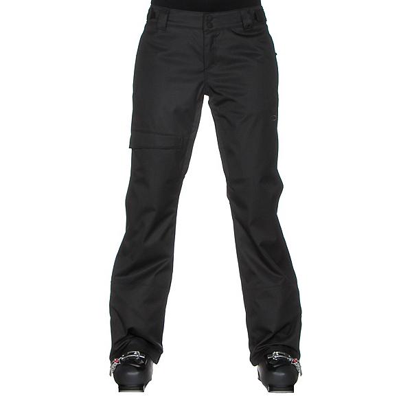Oakley Limelight BZS Womens Snowboard Pants, Jet Black, 600