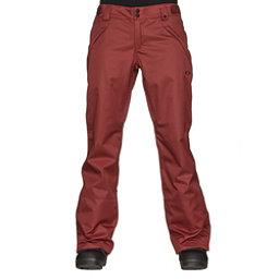 Oakley Stickline BZI Womens Snowboard Pants, Fired Brick, 256