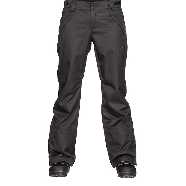 Oakley Stickline BZI Womens Snowboard Pants, Jet Black, 600