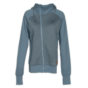 Oakley Sundown Womens Hoodie, Blue Mirage, medium