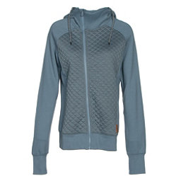 Oakley Sundown Womens Hoodie, Blue Mirage, 256