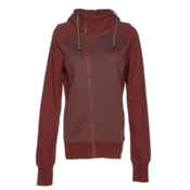 Oakley Sundown Womens Hoodie, Fired Brick, medium