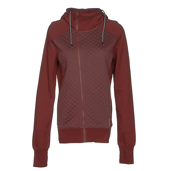Oakley Sundown Womens Hoodie, Fired Brick, 600