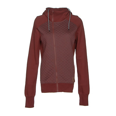 Oakley Sundown Womens Hoodie, Fired Brick, viewer