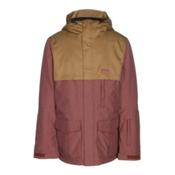 Oakley Needles BioZone Mens Insulated Snowboard Jacket, Fired Brick, medium