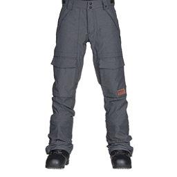 Oakley Hawkeye BioZone Shell Mens Snowboard Pants, Jet Black, 256