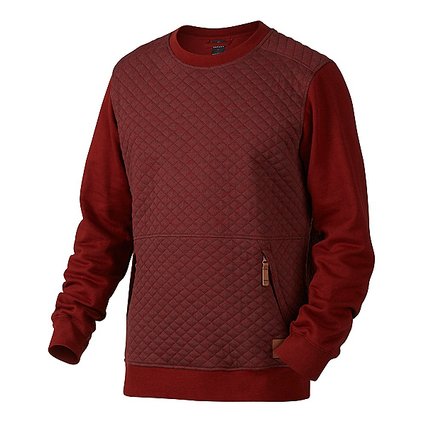 Oakley Chips Thermal Crew Mens Sweater, Fired Brick, 600