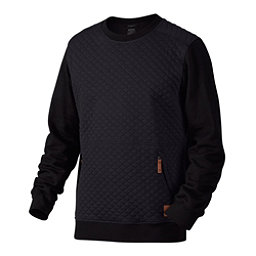Oakley Chips Thermal Crew Mens Sweater, Jet Black, 256