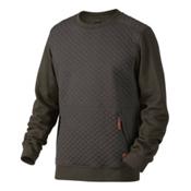 Oakley Chips Thermal Crew Mens Sweater, Dark Brush, medium