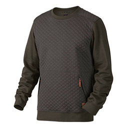 Oakley Chips Thermal Crew Mens Sweater, Dark Brush, 256