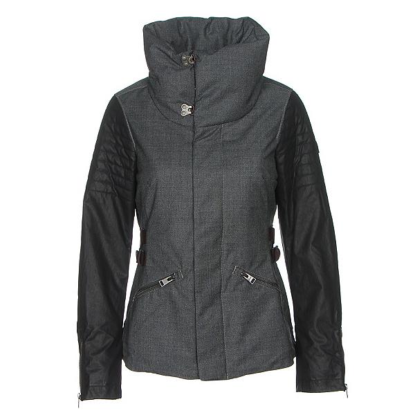 Sorel Joan Of Arctic Womens Jacket, Charcoal Heather-Black, 600