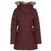 Sorel Womens Conquest Carly Parka, Elderberry, medium