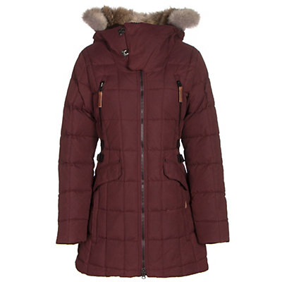Sorel Womens Conquest Carly Parka, Elderberry, viewer